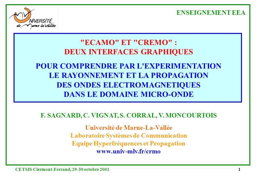 DEUX INTERFACES GRAPHIQUES POUR COMPRENDRE PAR L EXPERIMENTATION