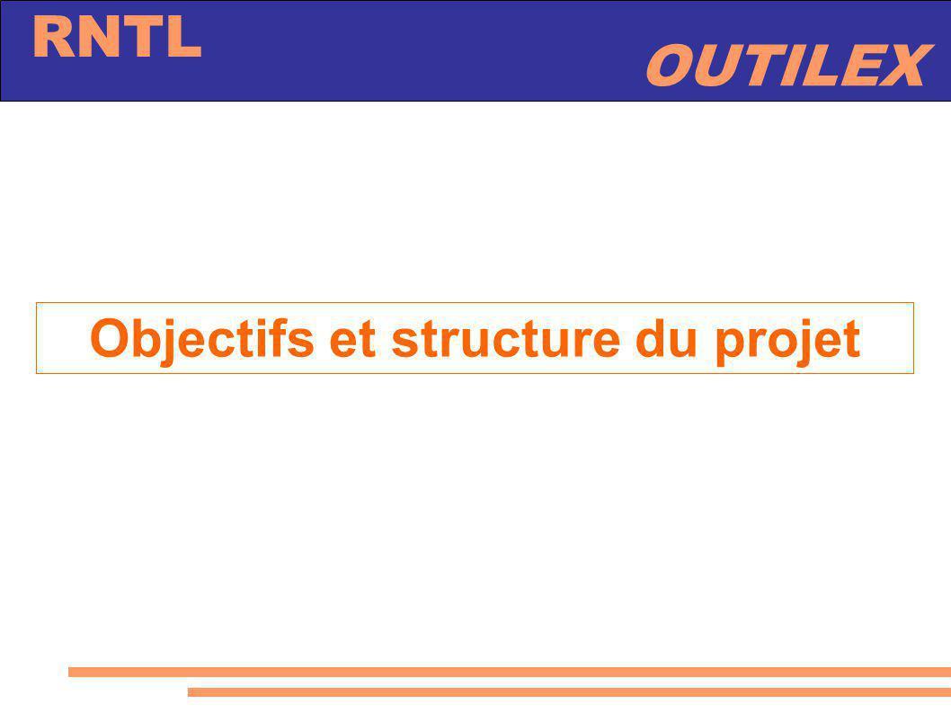 Objectifs et structure du projet