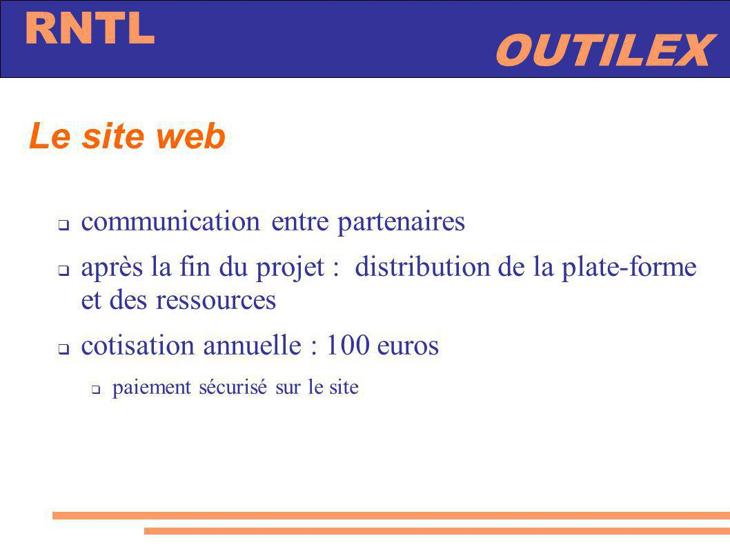 Le site web communication entre partenaires