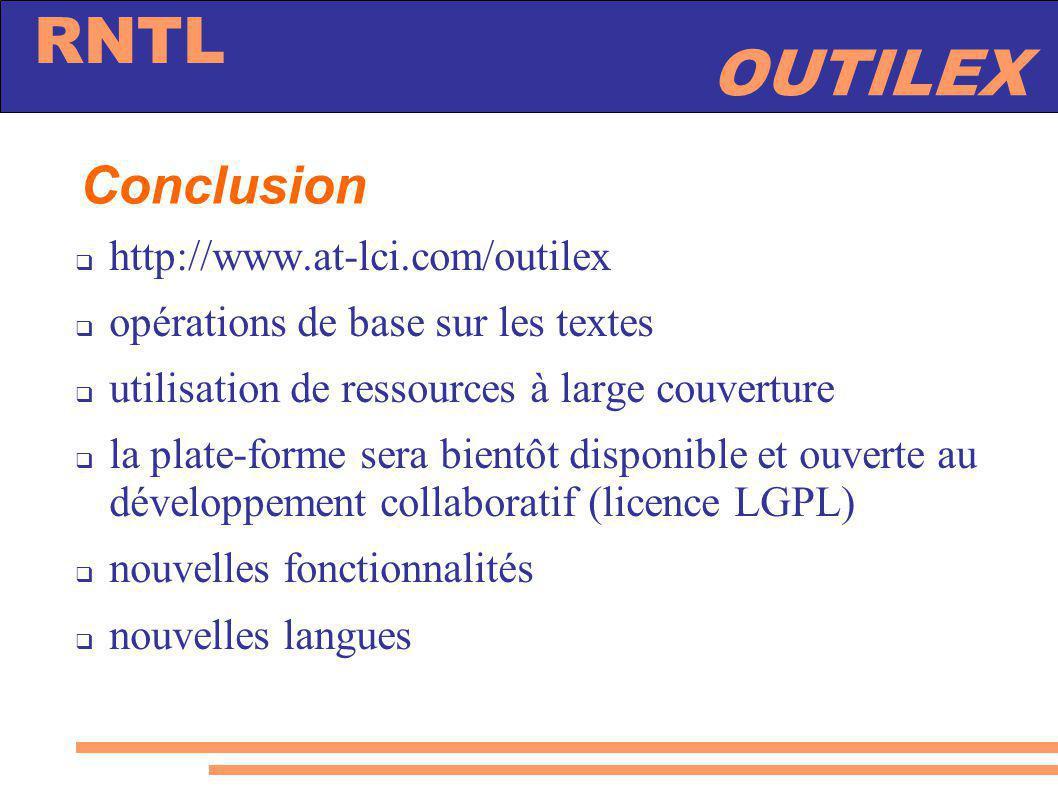 Conclusion http://www.at-lci.com/outilex