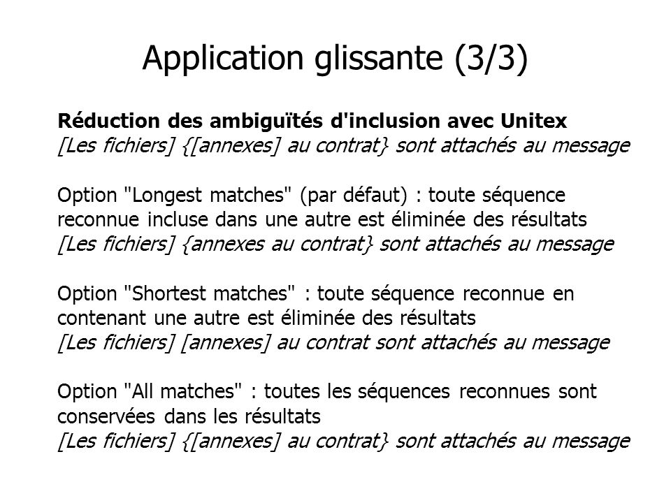 Application glissante (3/3)
