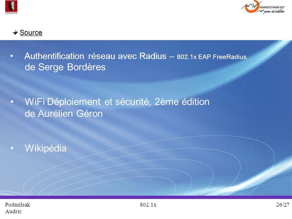 WiFi Déploiement et sécurité, 2ème édition de Aurélien Géron