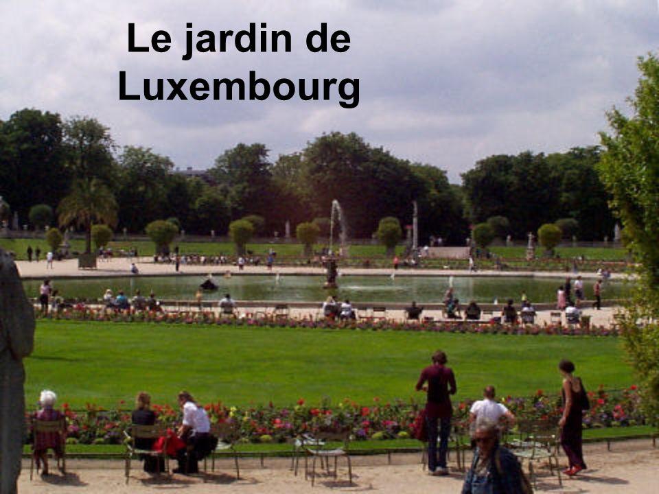 Le jardin de Luxembourg
