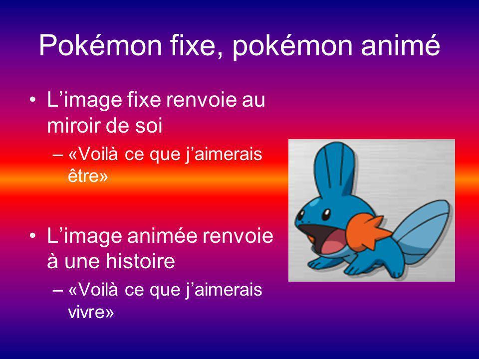 Pokémon fixe, pokémon animé