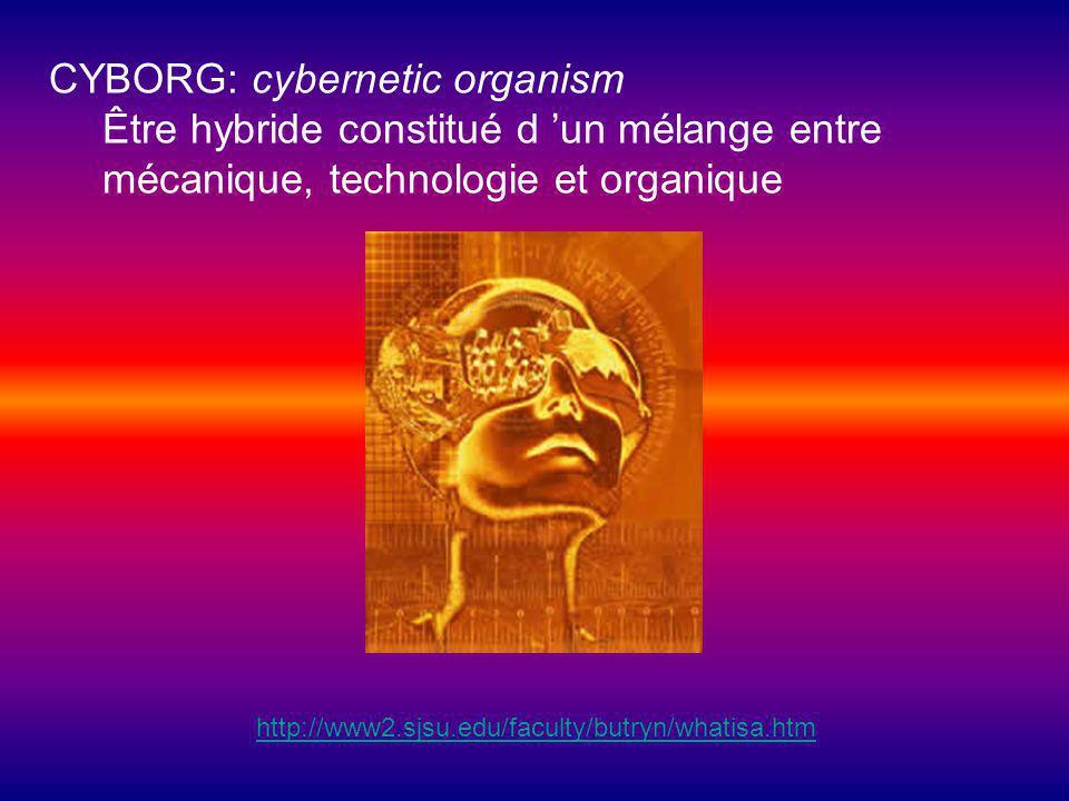 CYBORG: cybernetic organism