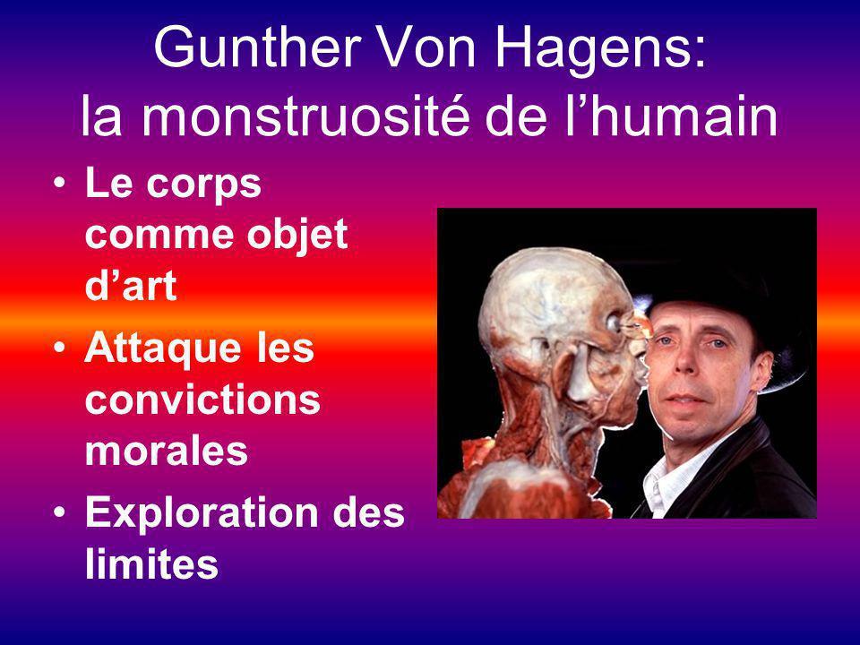 Gunther Von Hagens: la monstruosité de l'humain