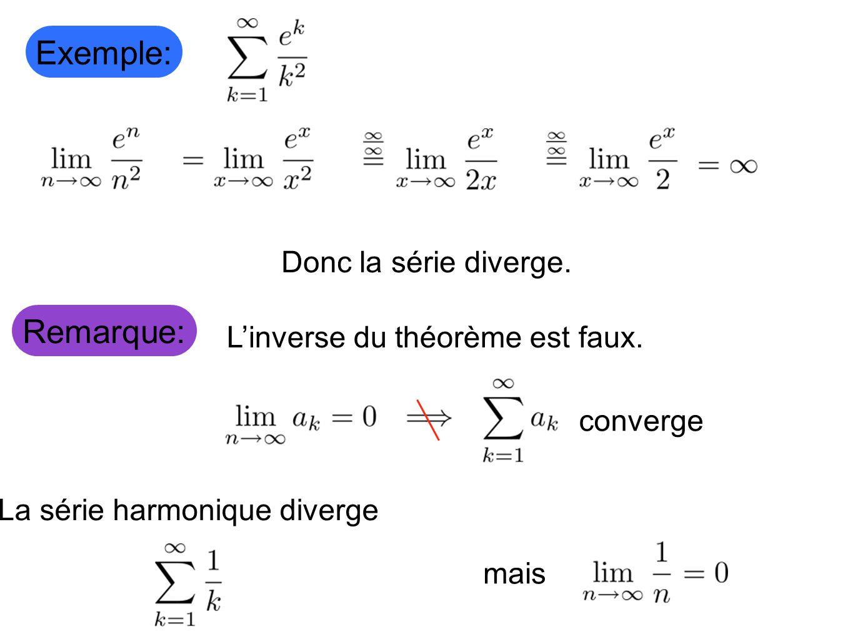 La série harmonique diverge