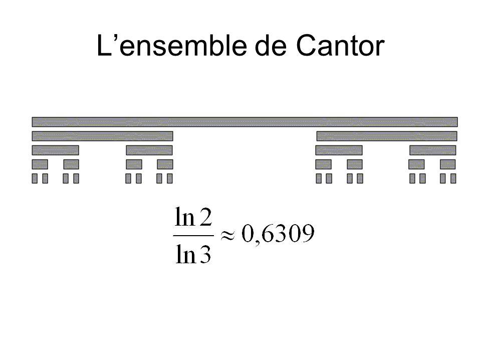 L'ensemble de Cantor