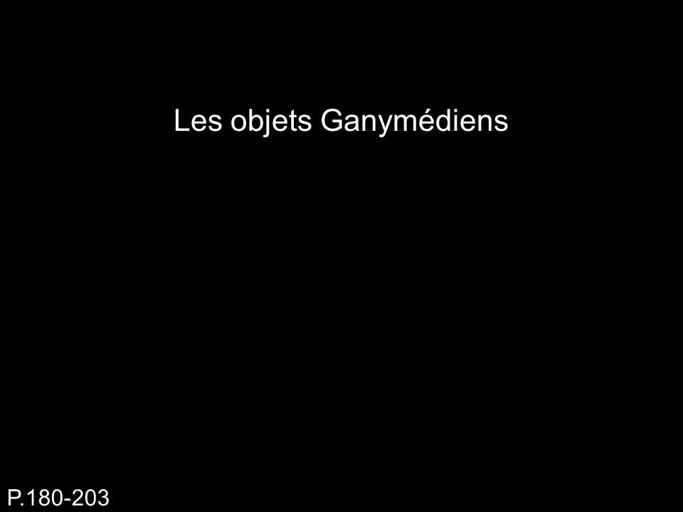 Les objets Ganymédiens