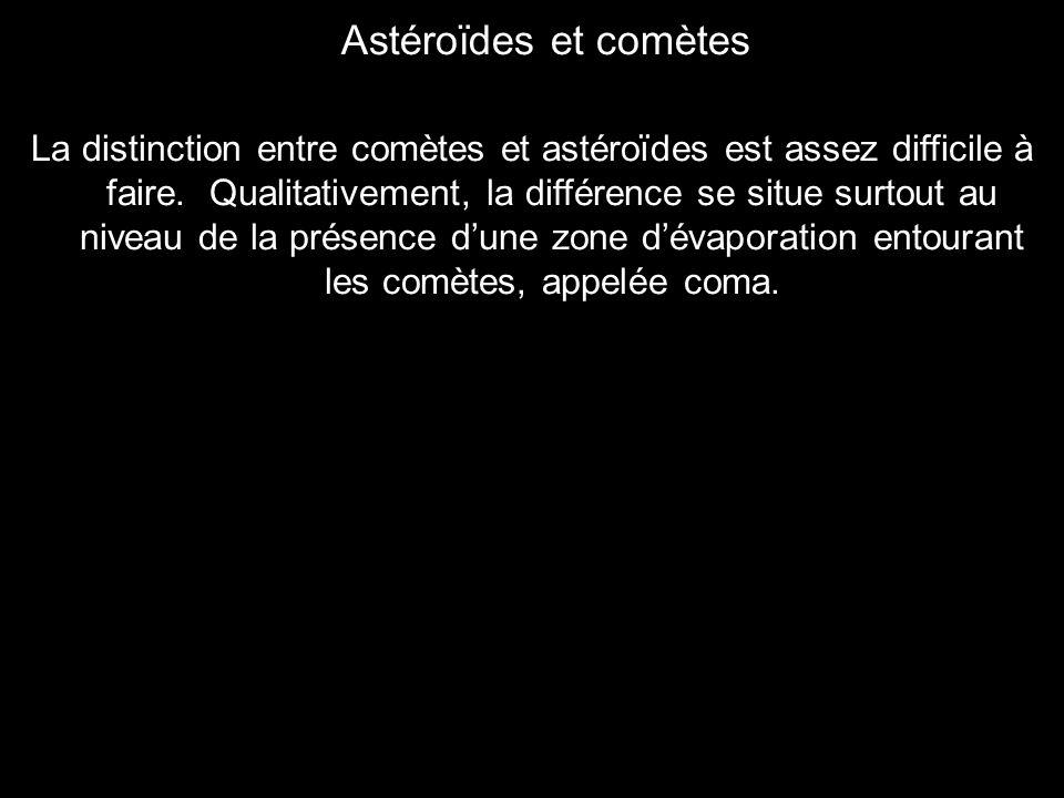 Astéroïdes et comètes