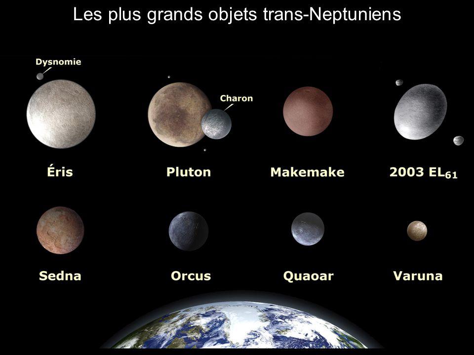 Les plus grands objets trans-Neptuniens