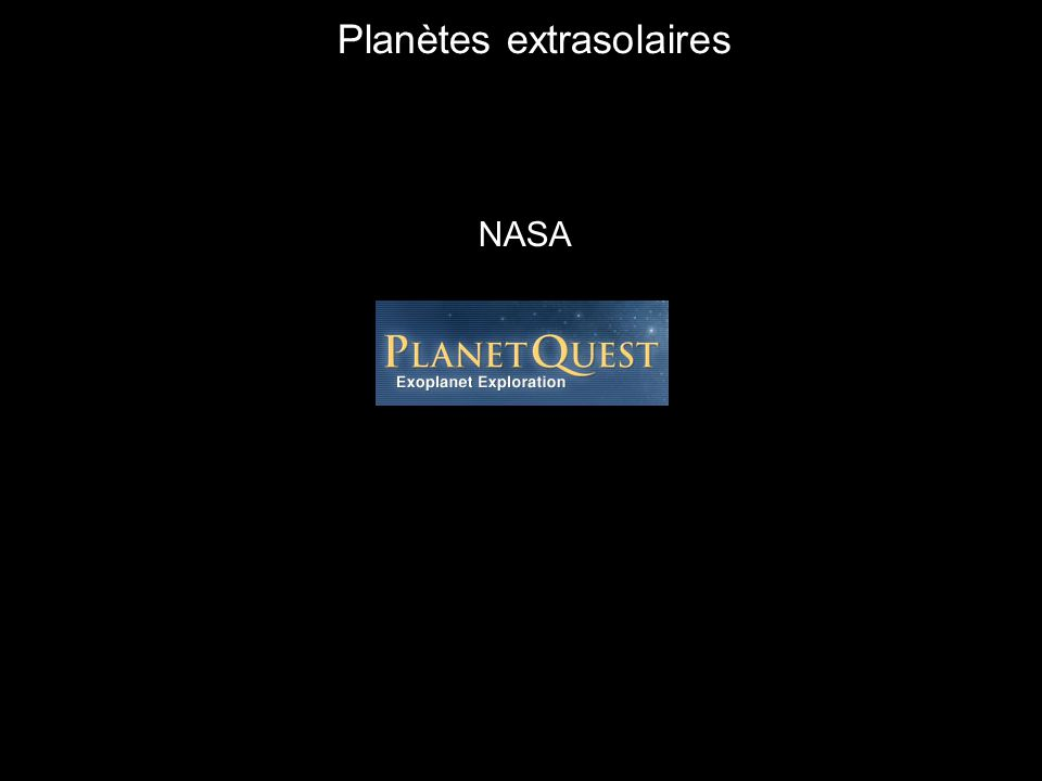 Planètes extrasolaires