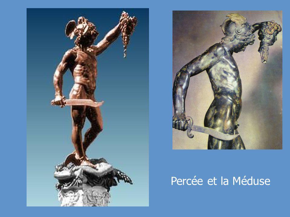 Percée et la Méduse Statue de bronze par Benvenuto Cellini,