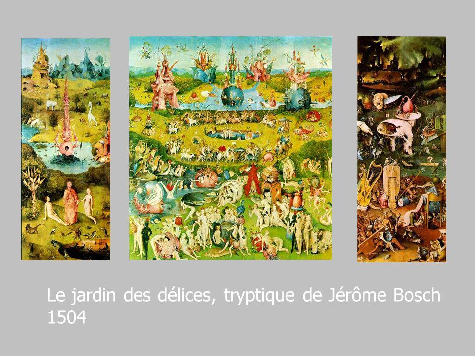 Le jardin des délices, tryptique de Jérôme Bosch 1504