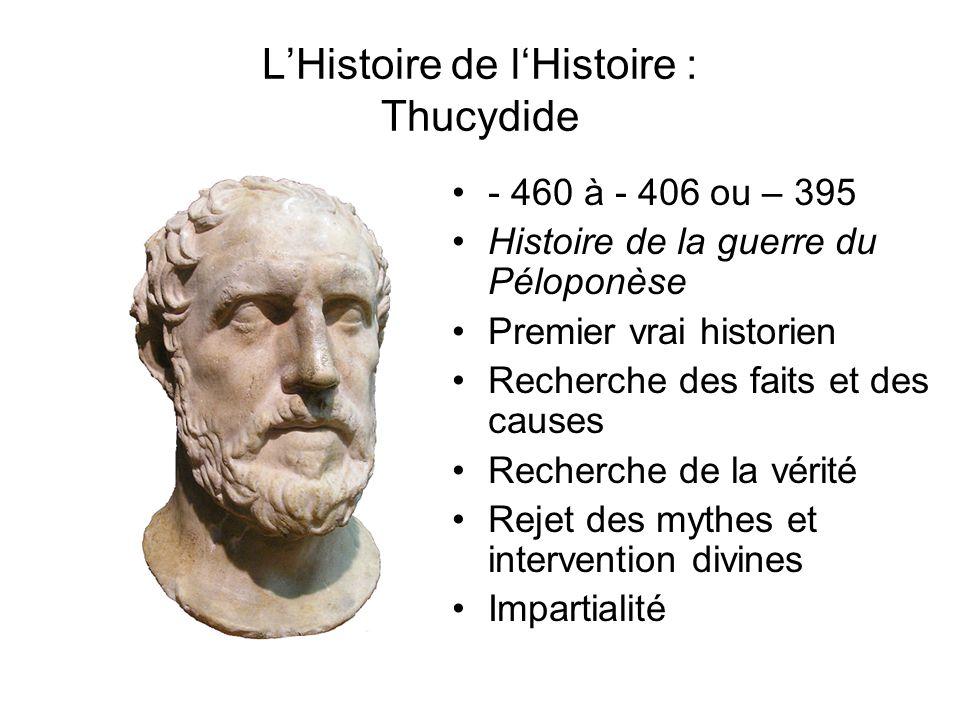L'Histoire de l'Histoire : Thucydide