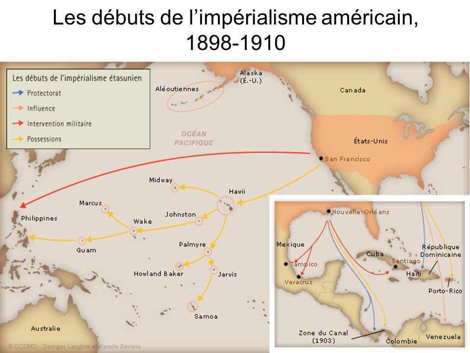 Les débuts de l'impérialisme américain, 1898-1910