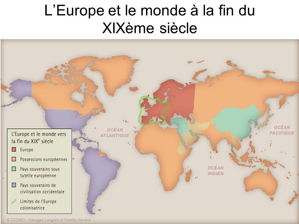 L'Europe et le monde à la fin du XIXème siècle