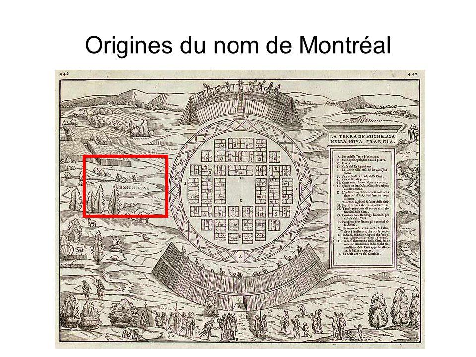 Origines du nom de Montréal
