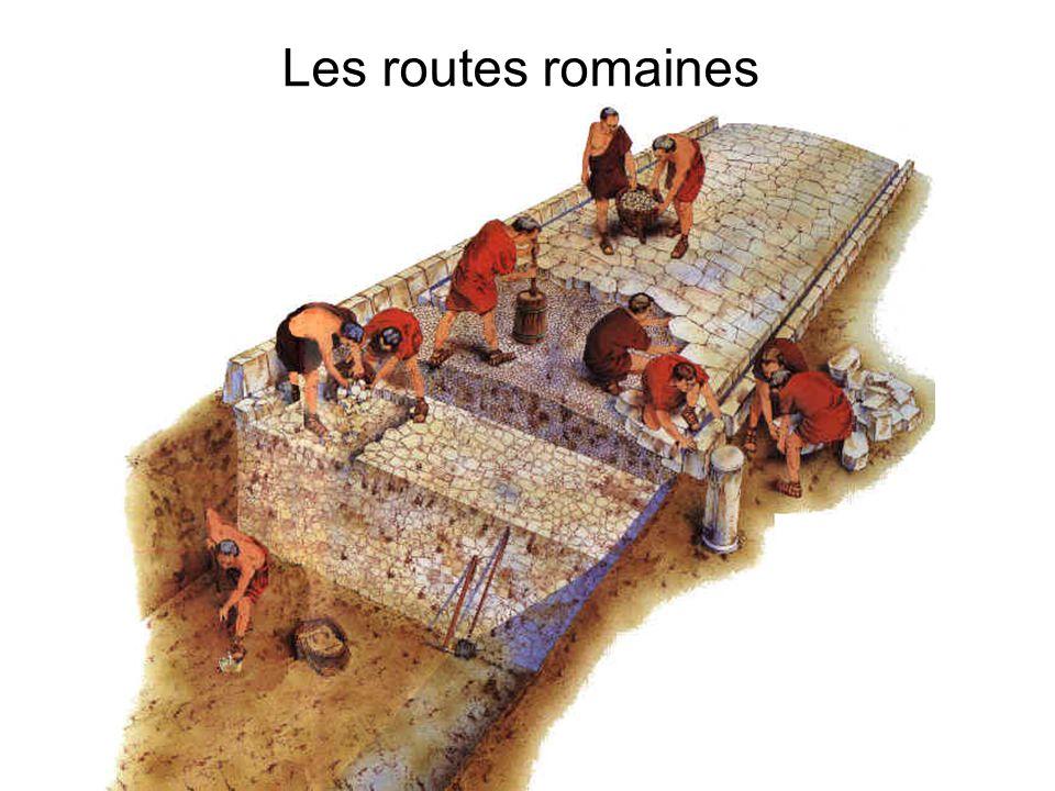 Les routes romaines