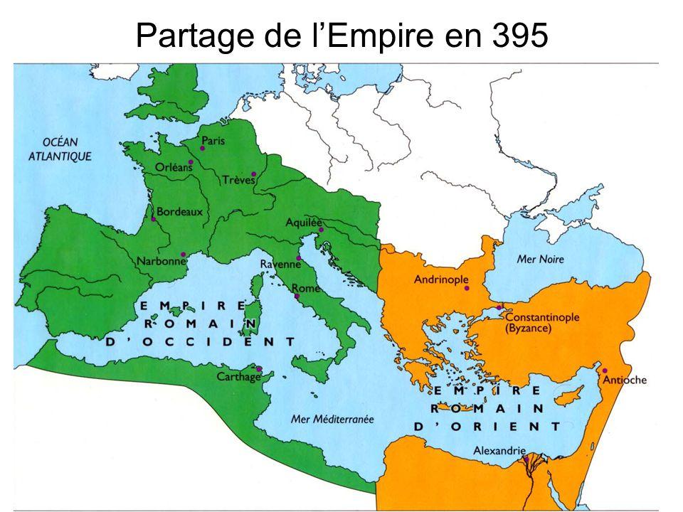 Partage de l'Empire en 395