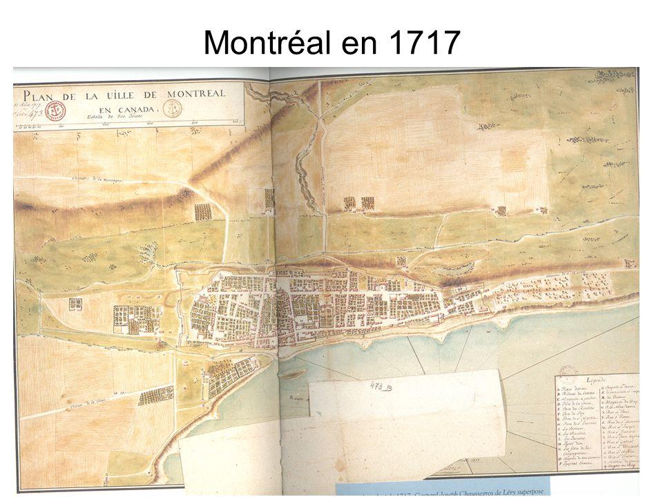 Montréal en 1717
