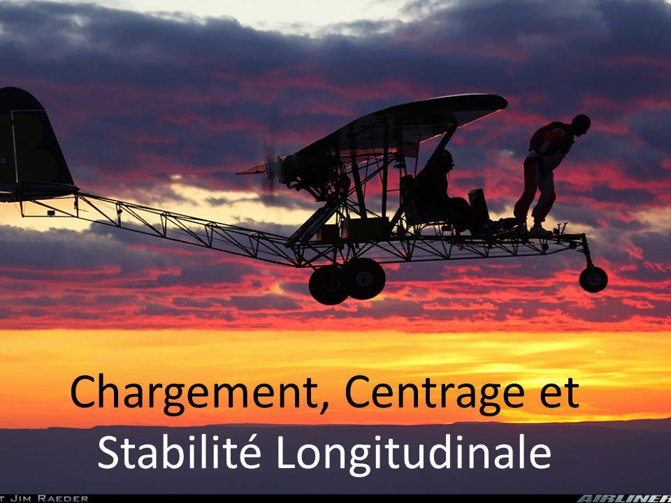 Chargement, Centrage et Stabilité Longitudinale