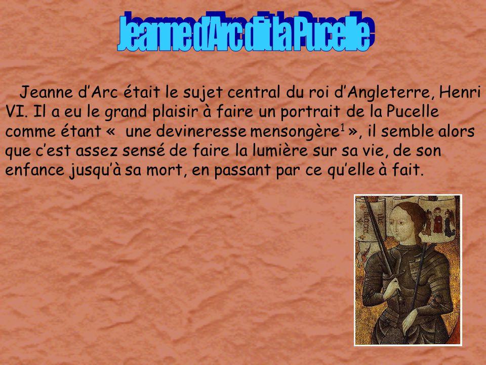 Jeanne d'Arc dit la Pucelle