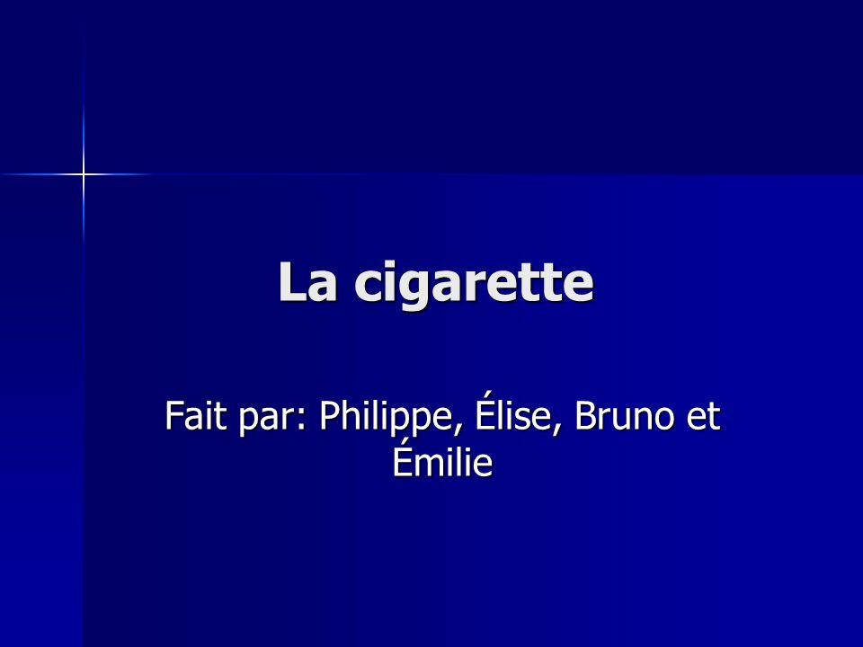 Fait par: Philippe, Élise, Bruno et Émilie