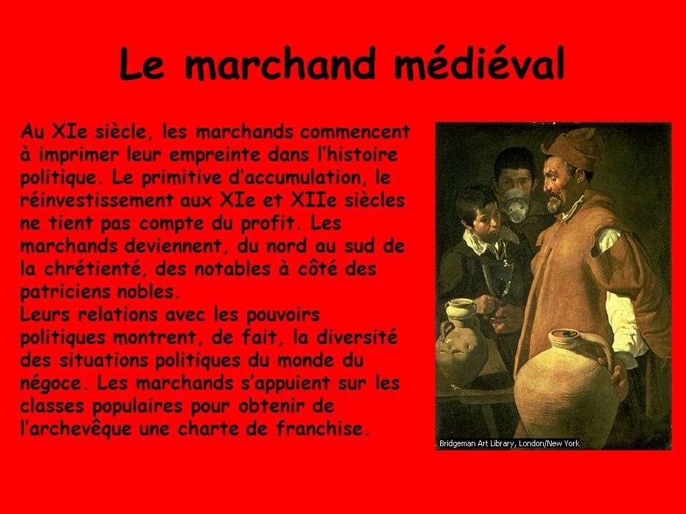 Le marchand médiéval