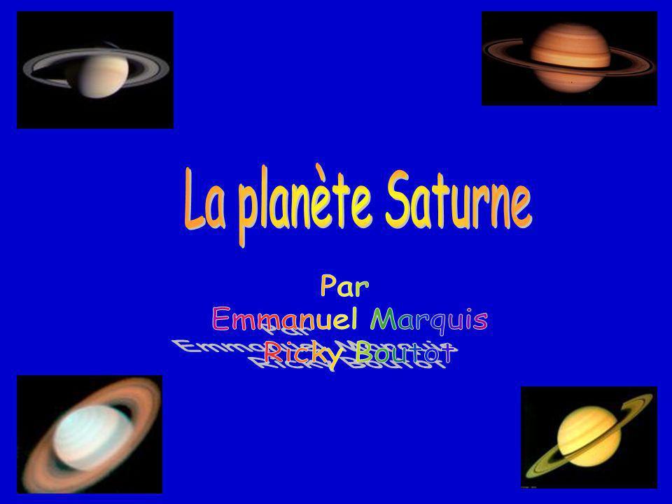La planète Saturne Par Emmanuel Marquis Ricky Boutot