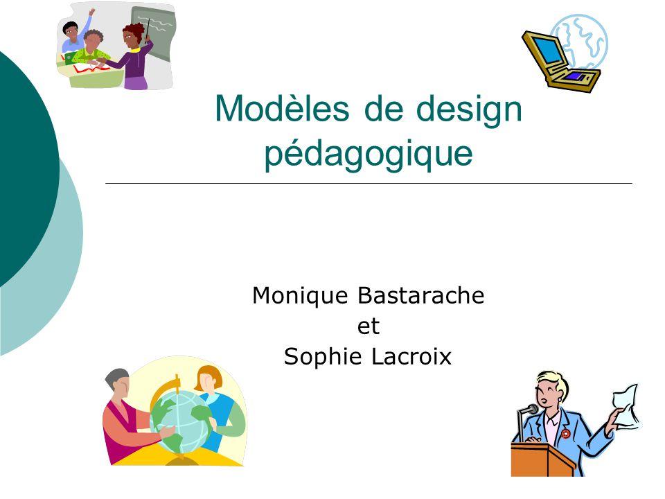 Modèles de design pédagogique