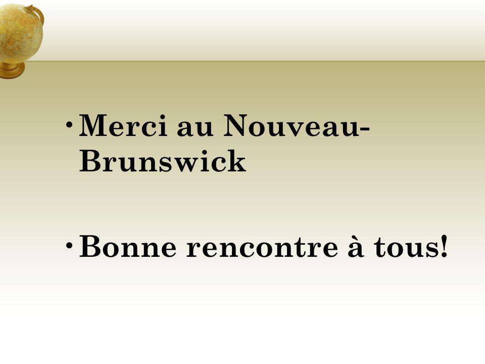 Merci au Nouveau-Brunswick
