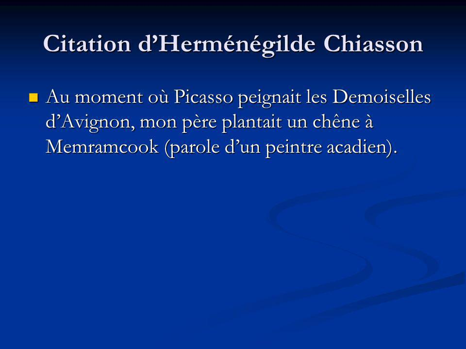 Citation d'Herménégilde Chiasson