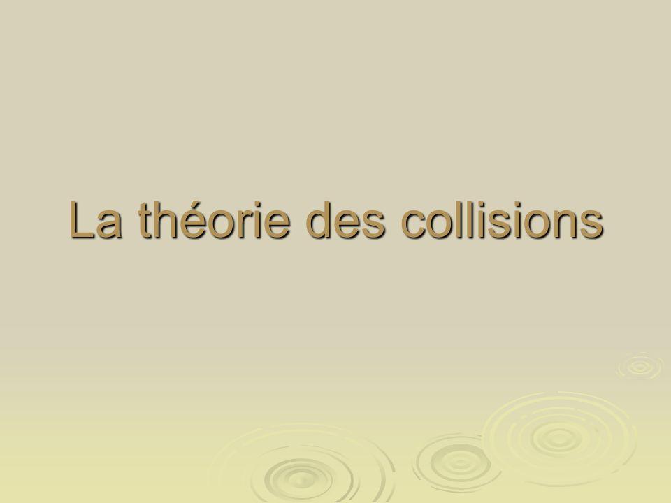 La théorie des collisions