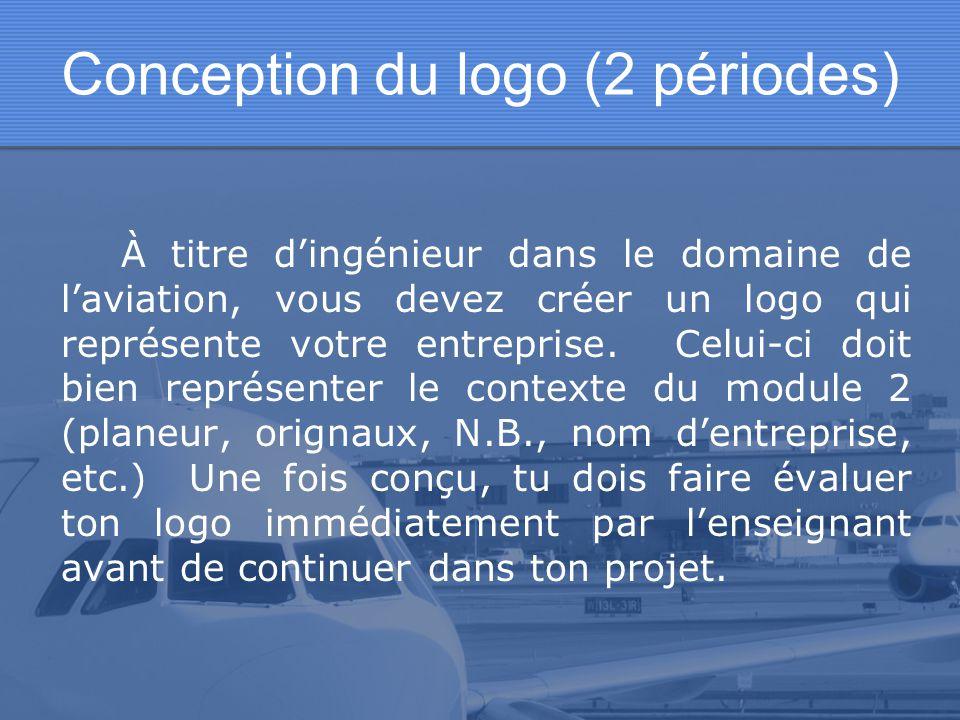 Conception du logo (2 périodes)