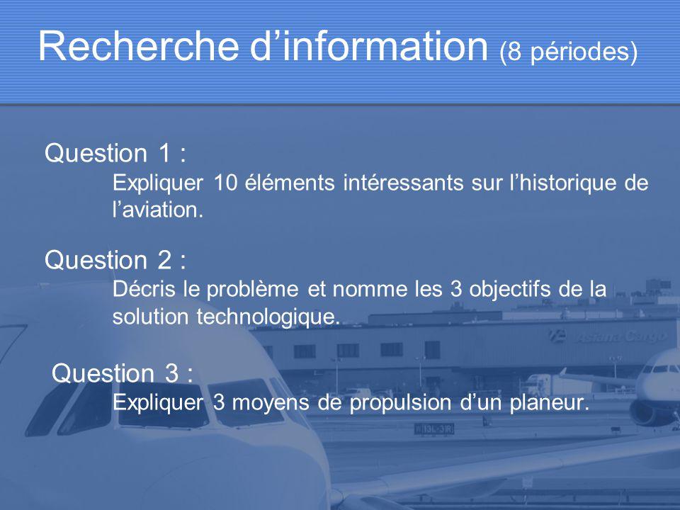Recherche d'information (8 périodes)