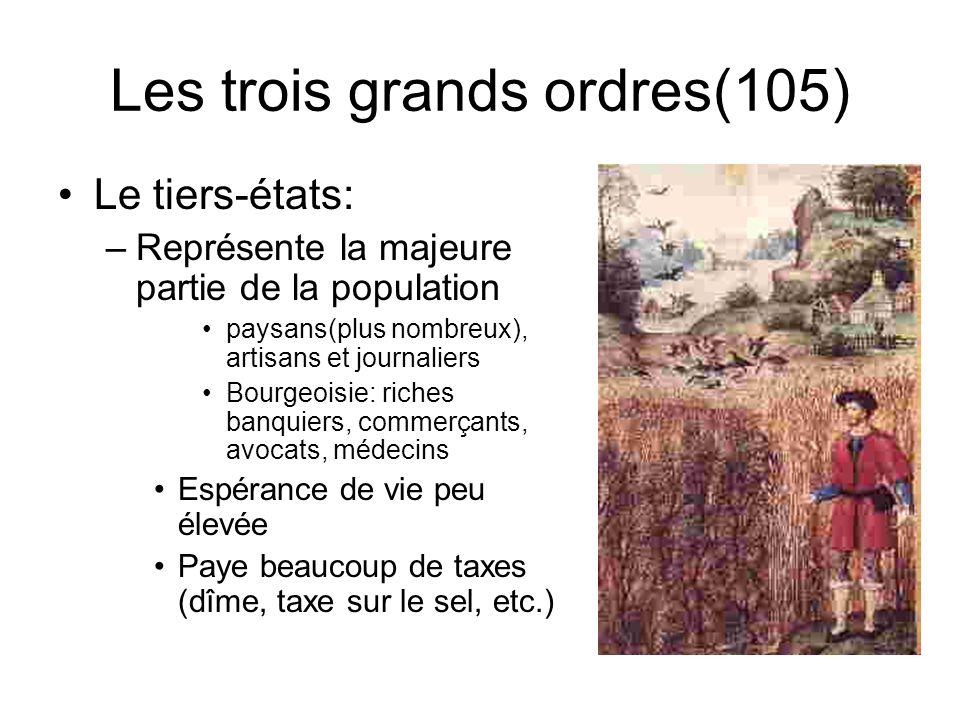 Les trois grands ordres(105)