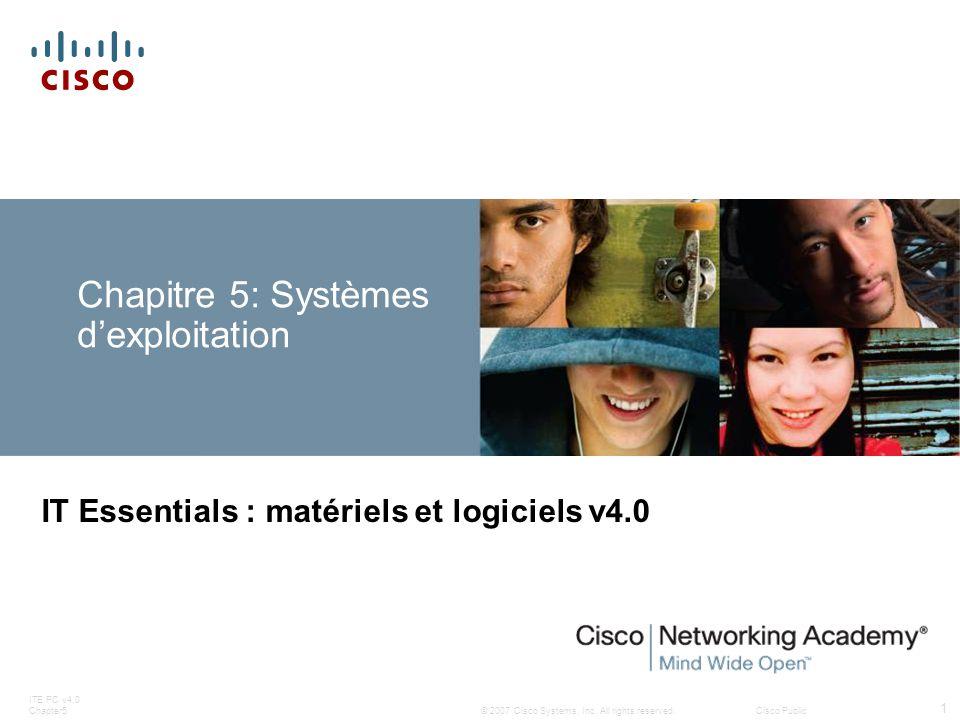 Chapitre 5: Systèmes d'exploitation