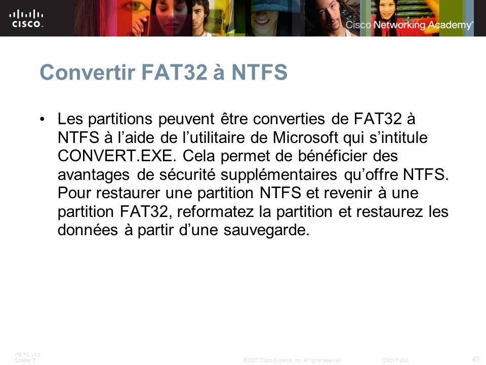 Convertir FAT32 à NTFS