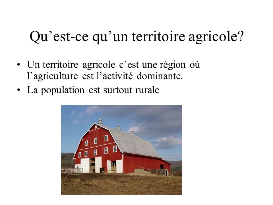 Qu'est-ce qu'un territoire agricole