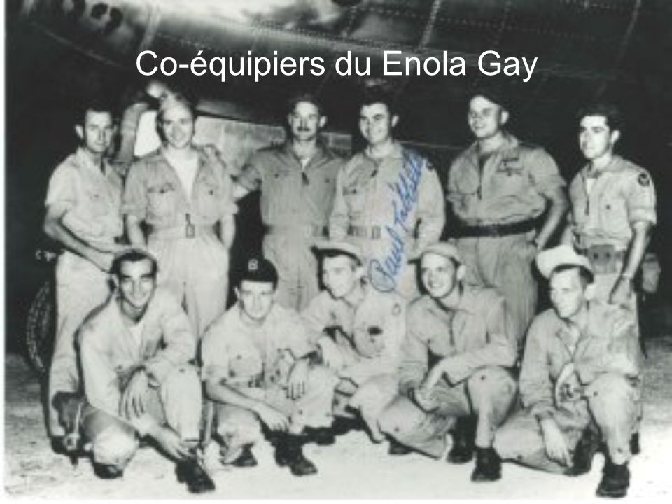 Co-équipiers du Enola Gay