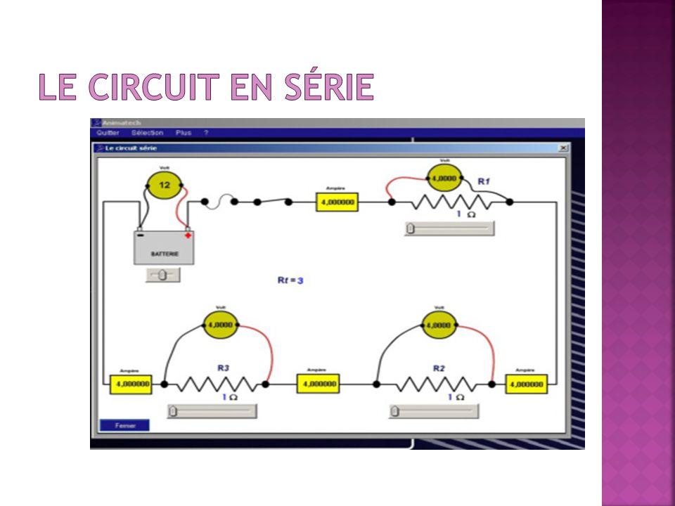 Le circuit en série