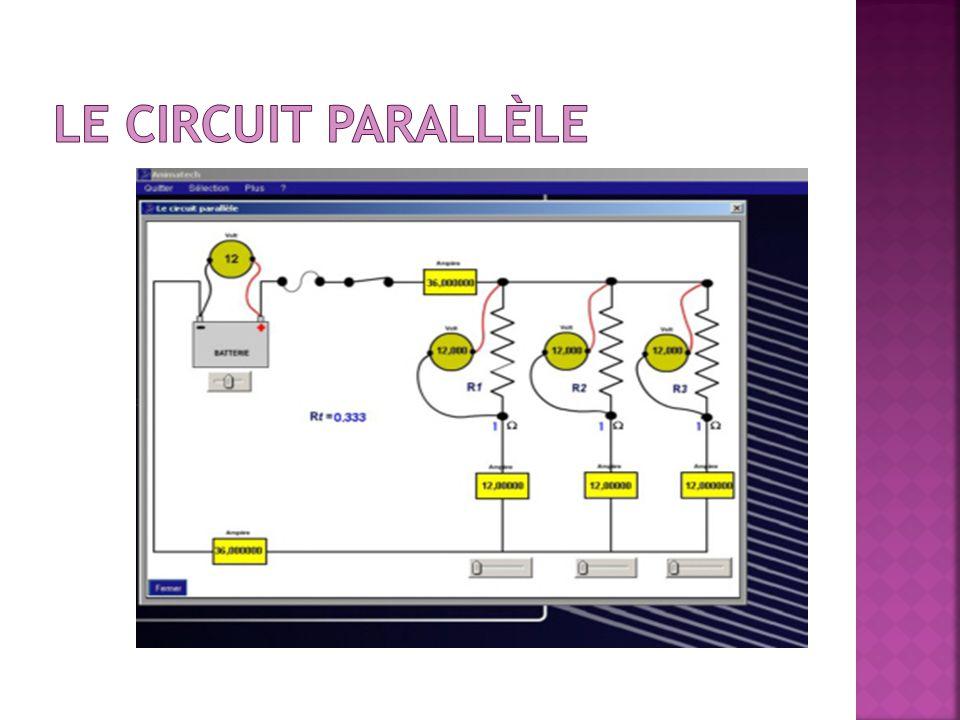 Le circuit parallèle