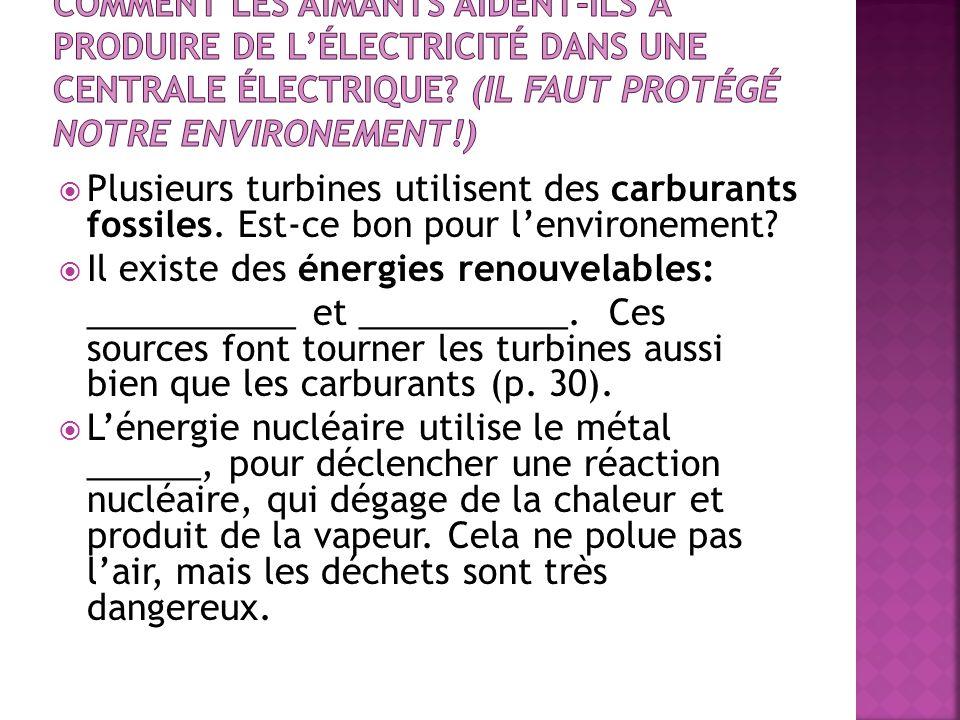 Il existe des énergies renouvelables: