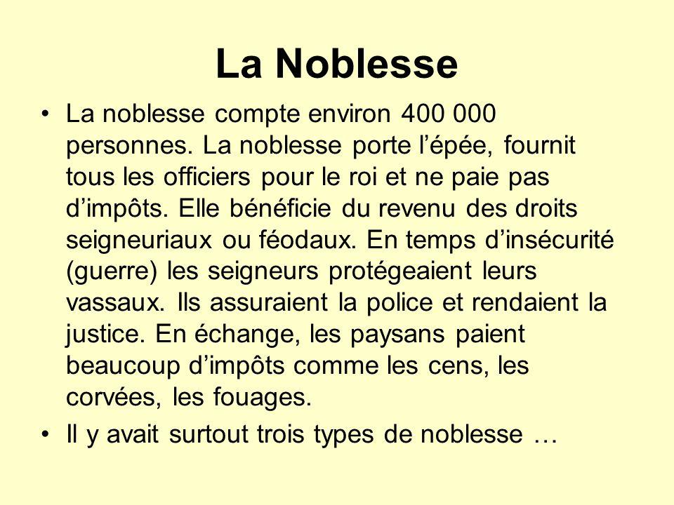 La Noblesse