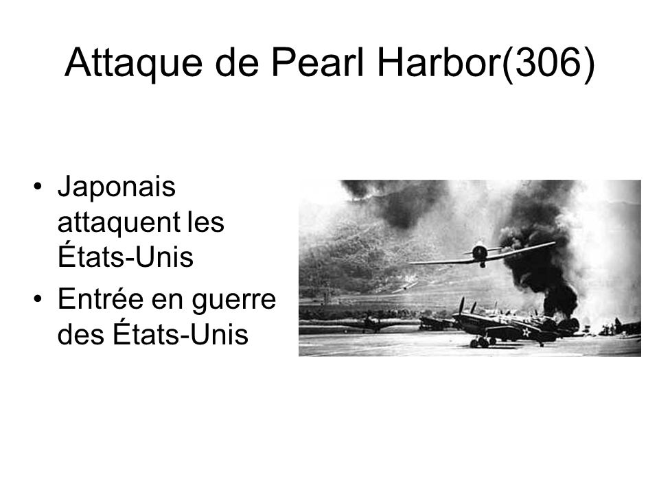 Attaque de Pearl Harbor(306)