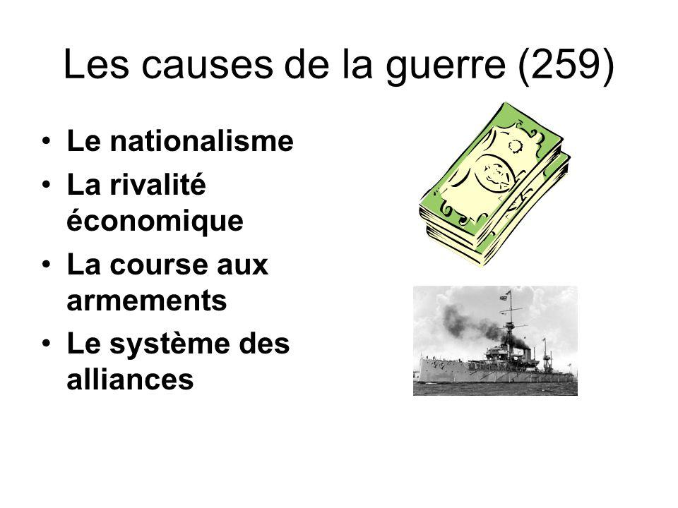 Les causes de la guerre (259)