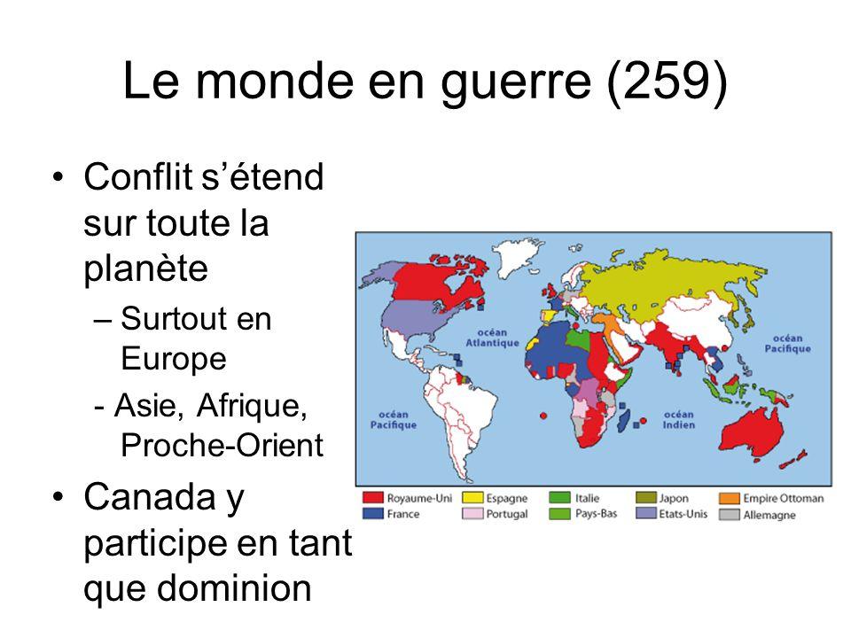 Le monde en guerre (259) Conflit s'étend sur toute la planète