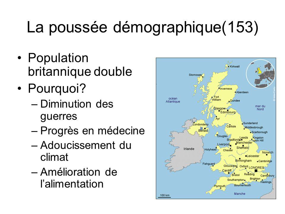 La poussée démographique(153)