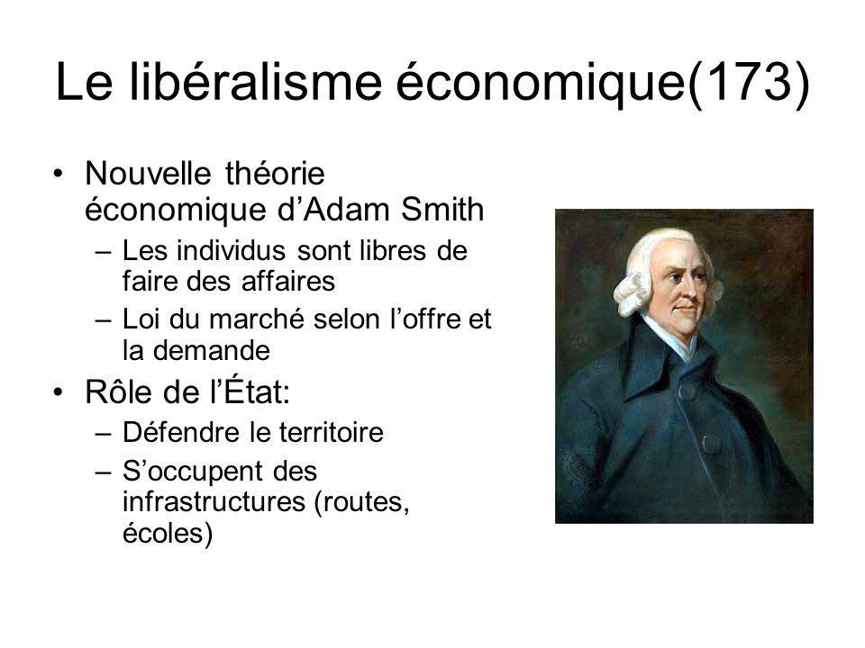 Le libéralisme économique(173)